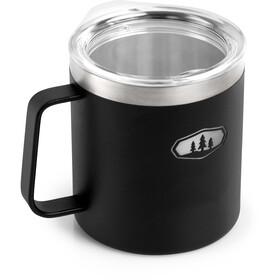 GSI Glacier Stainless Camp Cup 444 ml, sort